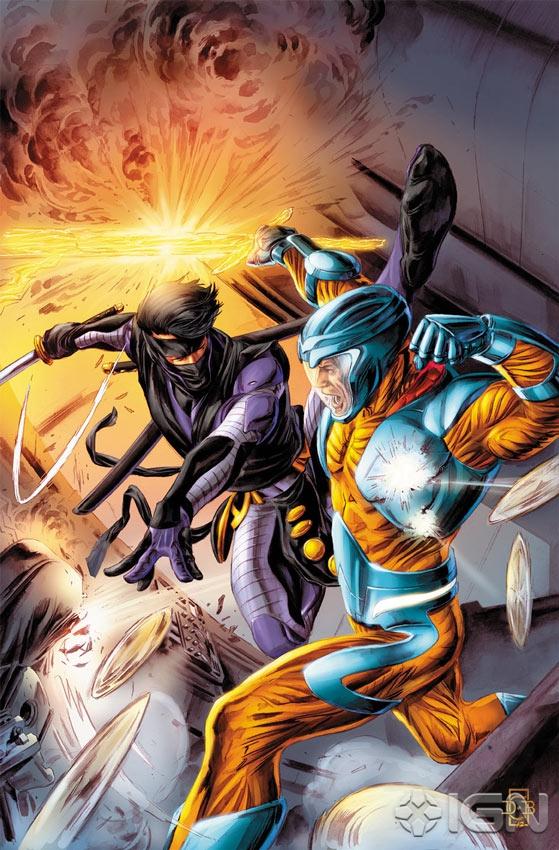 X-O MANOWAR VS. NINJAK